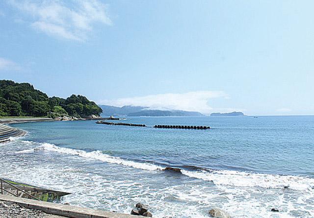 浪板海岸展望台