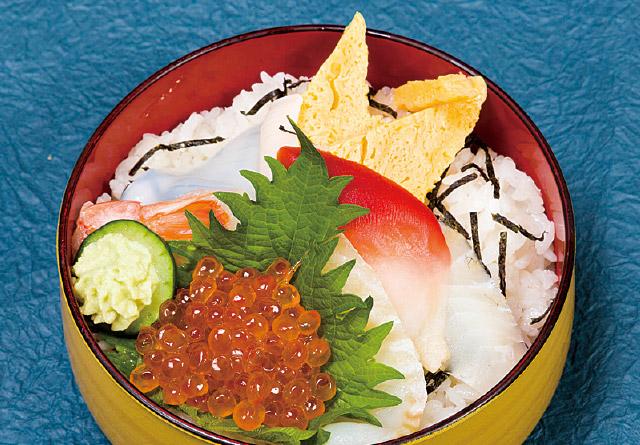選んで盛りつけ 海鮮丼