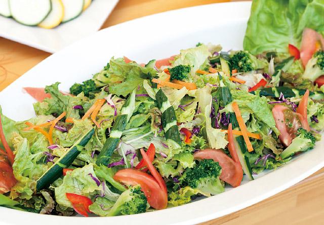 地野菜サラダ