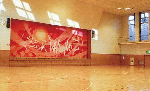大槌中央公民館体育館