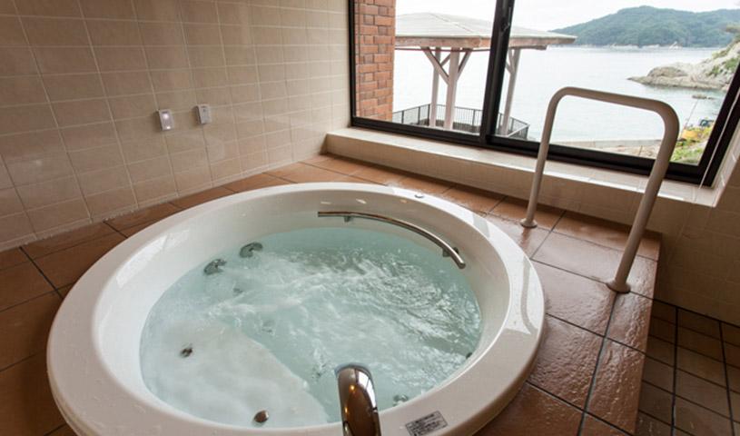 貸切風呂「夢の花」