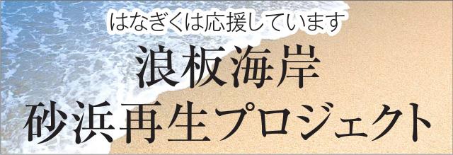 浪板海岸 砂浜再生プロジェクト
